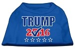 Trump Checkbox Election Screenprint Shirts Blue XS (8)