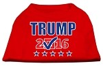 Trump Checkbox Election Screenprint Shirts Red XS (8)