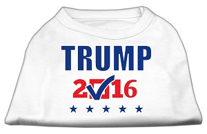 Trump Checkbox Election Screenprint Shirts White XXL