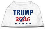 Trump Checkbox Election Screenprint Shirts White XS (8)