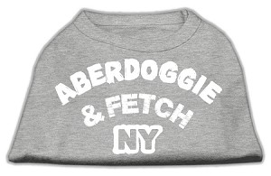 Aberdoggie NY Screenprint Shirts Grey Lg (14)