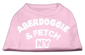 Aberdoggie NY Screenprint Shirts Light Pink XXXL