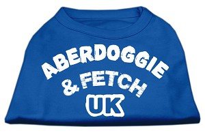 Aberdoggie UK Screenprint Shirts Blue Sm (10)