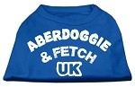 Aberdoggie UK Screenprint Shirts Blue XS (8)