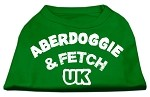 Aberdoggie UK Screenprint Shirts Emerald Green XS (8)