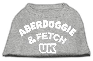 Aberdoggie UK Screenprint Shirts Grey XL