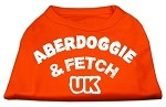 Aberdoggie UK Screenprint Shirts Orange XS (8)