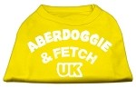 Aberdoggie UK Screenprint Shirts Yellow XS (8)