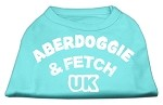 Aberdoggie UK Screenprint Shirts Aqua XS (8)