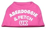 Aberdoggie UK Screenprint Shirts Bright Pink XS (8)