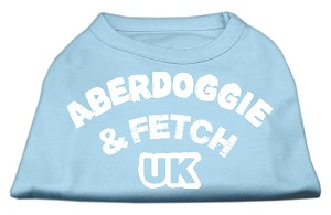 Aberdoggie UK Screenprint Shirts Baby Blue XL