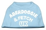 Aberdoggie UK Screenprint Shirts Baby Blue XS (8)