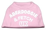 Aberdoggie UK Screenprint Shirts Light Pink XS (8)