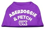 Aberdoggie UK Screenprint Shirts Purple XS (8)