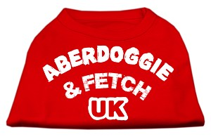 Aberdoggie UK Screenprint Shirts Red XXXL (20)