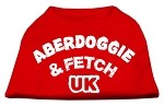 Aberdoggie UK Screenprint Shirts Red XS (8)