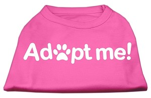 Adopt Me Screen Print Shirt Bright Pink Med (12)