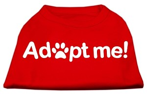 Adopt Me Screen Print Shirt Red Lg (14)