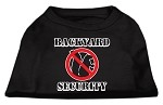 Backyard Security Screen Print Shirts Black XS (8)