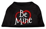 Be Mine Screen Print Shirt Black XS (8)