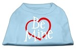 Be Mine Screen Print Shirt Baby Blue XS (8)