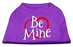 Be Mine Screen Print Shirt Purple XS (8)