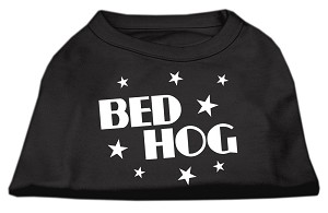 Bed Hog Screen Printed Shirt Black Med (12)