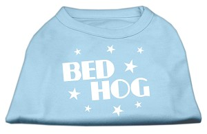 Bed Hog Screen Printed Shirt Baby Blue Sm (10)