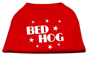Bed Hog Screen Printed Shirt Red XS