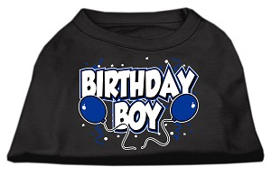 Birthday Boy Screen Print Shirts Black XXL