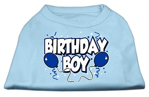 Birthday Boy Screen Print Shirts Baby Blue XXL (18)