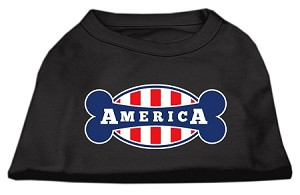 Bonely in America Screen Print Shirt Black XL (16)