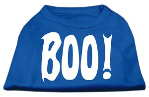 Boo! Screen Print Shirts Blue XL (16)