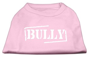 Bully Screen Printed Shirt Light Pink Med (12)
