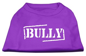 Bully Screen Printed Shirt Purple XL (16)