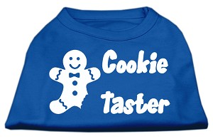 Cookie Taster Screen Print Shirts Blue XS (8)
