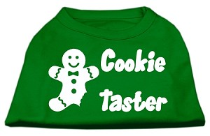 Cookie Taster Screen Print Shirts Emerald Green XS (8)