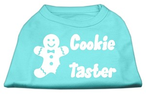 Cookie Taster Screen Print Shirts Aqua Med