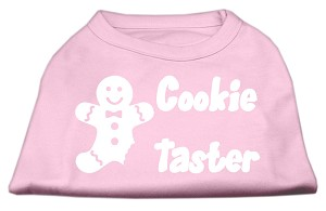 Cookie Taster Screen Print Shirts Light Pink XS