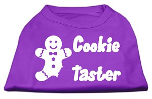 Cookie Taster Screen Print Shirts Purple Med