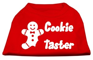 Cookie Taster Screen Print Shirts Red Sm