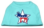 Democrat Screen Print Shirts Aqua XS (8)