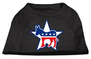 Democrat Screen Print Shirts Black XXXL(20)