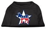 Democrat Screen Print Shirts Black XS (8)