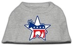 Democrat Screen Print Shirts Grey XS (8)