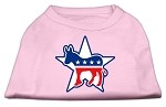 Democrat Screen Print Shirts Light Pink XS (8)
