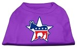 Democrat Screen Print Shirts Purple XS (8)