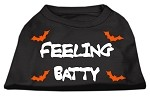 Feeling Batty Screen Print Shirts Black XXL