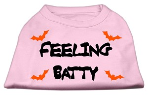 Feeling Batty Screen Print Shirts Pink XXL