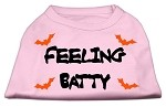 Feeling Batty Screen Print Shirts Pink Med